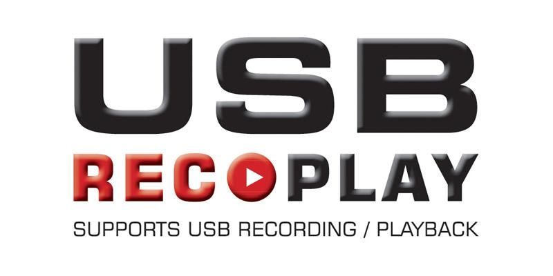 USB recording logo