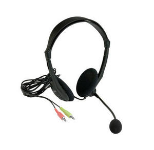 41820 - Multi Media Headset No Packaging Angled With Lead 2