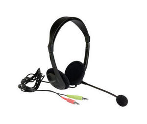 41820 - Multi Media Headset No Packaging Angled With Lead