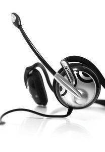 41821 Neck Band Multimedia Headphones - close up