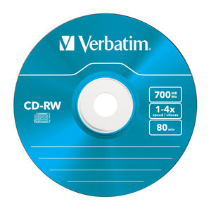 43133 CD-RW Colour Global Disc Surface Blue