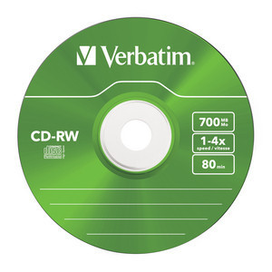 43133 CD-RW Colour Global Disc Surface Green