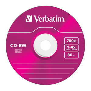 43133 CD-RW Colour Global Disc Surface Pink