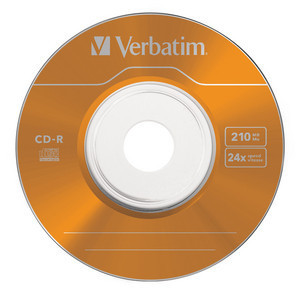 43266 CD-R 8cm Colour Global Disc Surface Orange