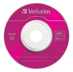 43266 CD-R 8cm Colour Global Disc Surface Pink