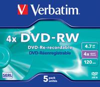 DVD-RW Matt Silver 4x