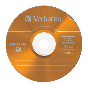 43297 DVD+RW Colour Global Disc Surface Orange