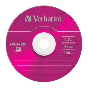 43297 DVD+RW Colour Global Disc Surface Pink