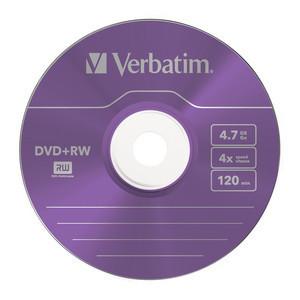 43297 DVD+RW Colour Global Disc Surface Purple