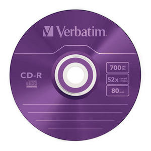 43308 CD-R Colour Global Disc Surface Purple