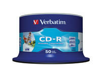 CD-R AZO Wide InkjetPrintable - ID Branded