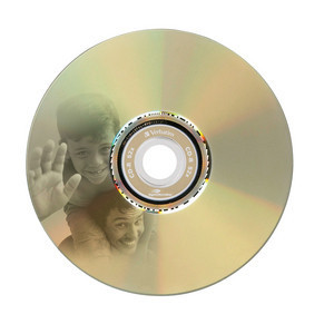 43441 CD-R LightScribe Global Disc Surface printed