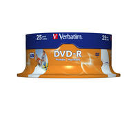 DVD-R 16x Wide Inkjet Printable