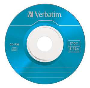 43555 CD-RW 8cm Colour Global Disc Surface Blue