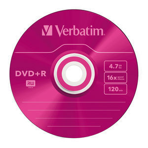 43556 DVD+R Colour Global Disc Surface Pink