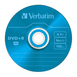 43556 DVD+R Colour Global Disc Surface Blue