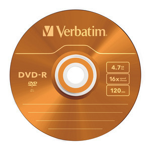 43557 DVD-R Colour Global Disc Surface Orange