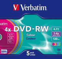 DVD-RW Colours
