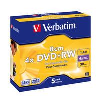 DVD+RW 8cm Matt Silver