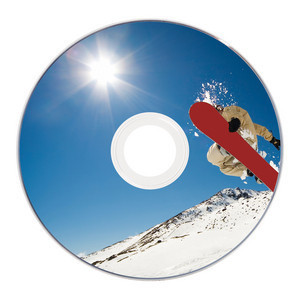 43573 DVD-R 8cm Global Disc Surface printed