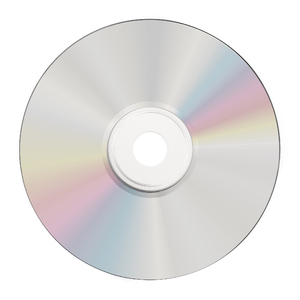 CD R Shiny Silver Printable 43582