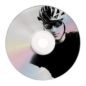 CD R Shiny Silver Printable 43582 printed