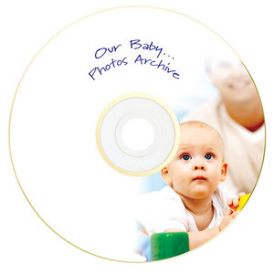 43634 DVD-R Gold Archival Global Disc Surface printed