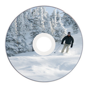 43641 DVD+RW 8cm Global Disc Surface printed