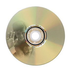 43643 DVD-R LightScribe Global Disc Surface Printed