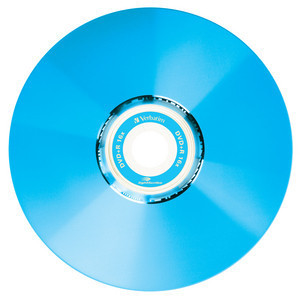 43658 DVD+R LightScribe Colour Global Disc Surface Blue