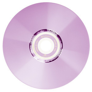 43658 DVD+R LightScribe Colour Global Disc Surface Purple