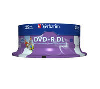 DVD+R DL 8x Wide Inkjet Printable