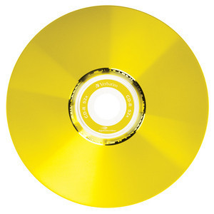 43675 CD-R LightScribe Colour Global Disc Surface Yellow