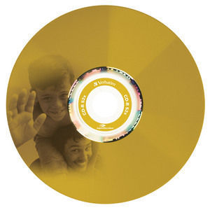 43675 CD-R LightScribe Colour Global Disc Surface Yellow Printed