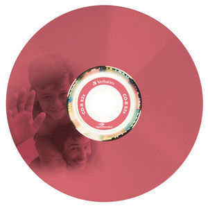 43675 CD-R LightScribe Colour Global Disc Surface Red Printed
