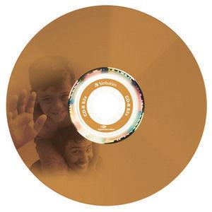 43675 CD-R LightScribe Colour Global Disc Surface Orange Printed
