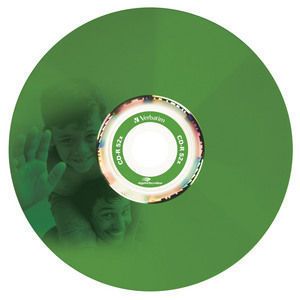 43675 CD-R LightScribe Colour Global Disc Surface Green Printed