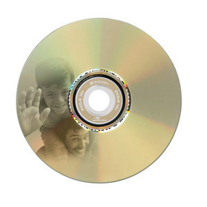 43676 DVD+R LightScribe Global Disc Surface printed