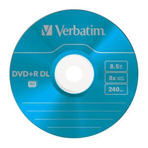 43682 DVD+R DL Colour Global Disc Surface Blue