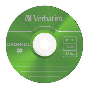 43682 DVD+R DL Colour Global Disc Surface Green