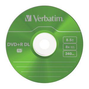 43682 DVD+R DL Colour Global Disc Surface Green