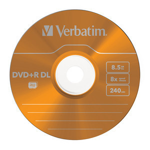 43682 DVD+R DL Colour Global Disc Surface Orange
