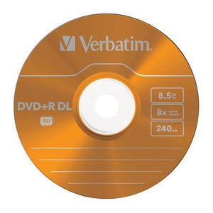 43682 DVD+R DL Colour Global Disc Surface Orange