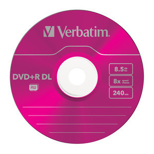 43682 DVD+R DL Colour Global Disc Surface Pink