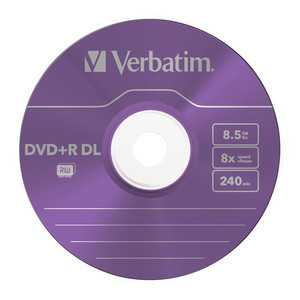 43682 DVD+R DL Colour Global Disc Surface Purple