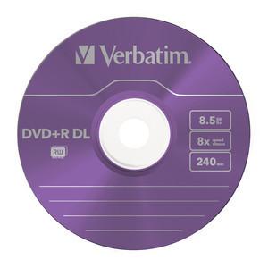43682 DVD+R DL Colour Global Disc Surface Purple