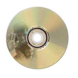 43684 DVD+R DL LightScribe Global Disc Surface printed