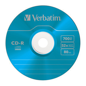 43711 CD-R Global Disc Surface Blue