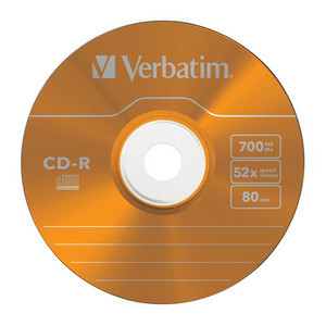 43711 CD-R Global Disc Surface Orange
