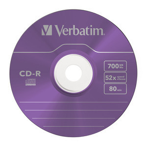 43711 CD-R Global Disc Surface Purple
